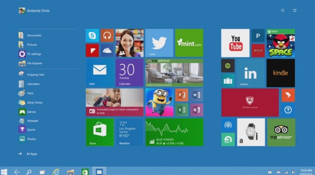 windows10 nouveautés